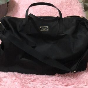 Black Kate Spade Filipa Weekend Bag
